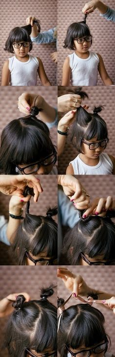 Mouse Ear Top Knots | A Cup of Jo