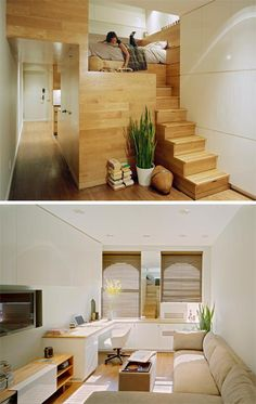 Small Spaces: East Village Studio |  Published in Home Interior Design | Small Houses, Small Spaces