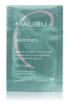 Malibu C Swimmers Weekly Solution - Box of 12 Packets ** New and awesome product awaits you, Read it now  : Travel Hair care