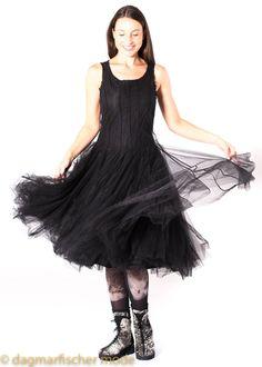 Tulle dress by RUNDHOLZ - dagmarfischermode.de