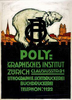 Polygraphisches Institut Zürich – 1929