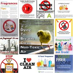 More Reasons and Resources to go Fragrance Free