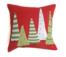 5 tree pillow