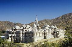 44 lugares lindos para visitar na Índia - Templo Jain, Ranakpur, Rajasthan