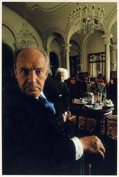 Arnold Newman – Vladimir Nabokov, Montreux, Switzerland, 1968