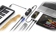 iRig PRO - universal ipad/iphone/ipod/mac interface ... phantom power, MIDI, XLR, TS cables!