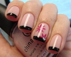 22 French Manicure Nail Art Designs