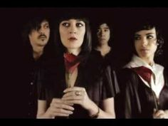 ...Everyday find a new course forward ... Ladytron - Black Cat - YouTube