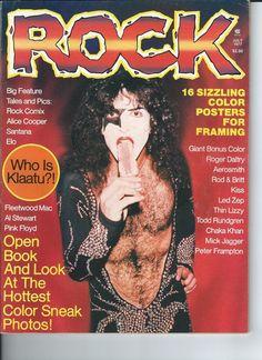 Pobozkaj Magazine 1977 rock Paul Stanley Cover RARE | eBay