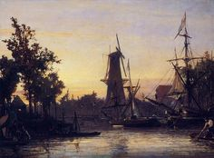 Jongkind_Johan_Berthold_Binneshaven_Rotterdam Johan Barthold Jongkind (3 June 1819 – 9 February 1891) was a Dutch painter and printmaker. He painted marine landscapes in a free manner and is regarded as a forerunner of Impressionism.