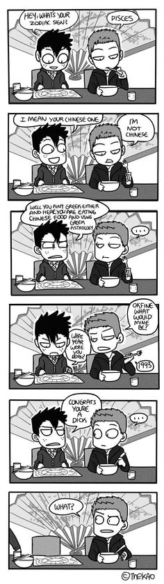 Mondo Mango :: Zodiac   Tapastic Comics - image 1 http://ibeebz.com <--- Is it bad that I instantly thought that other guy was Dean