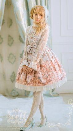 [-❤-Swan Lake-❤-] Lolita JSK