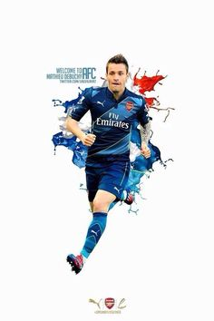 Mathieu Debuchy Welcome to Arsenal (Photo Credit: Arsenal Players, Arsenal Fc, Arsenal Football, Good Soccer Players, Football Players, Soccer Skills, Soccer Stars, World Football, Red Army