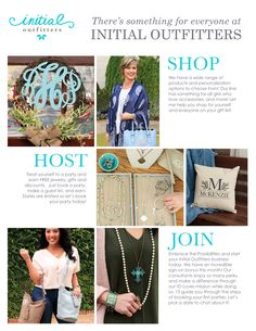 Shop | Host | Join | Initial Outfitters