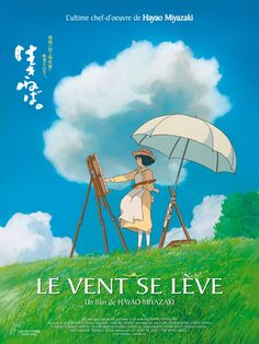 A fantastic poster from the Academy Award-winning anime movie The Wind Rises by Hayao Miyazaki and Studio Ghibli! Check out the rest of our great selection of Hayao Miyazaki posters! Need Poster Mounts. Anime Plus, Anime W, Girls Anime, Zelda Anime, Hayao Miyazaki, Anime Yugioh, Anime Pokemon, Film D'animation, Film Movie
