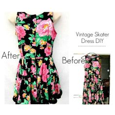 The Science of Happy | Personal Blog & Positivity Movement: DIY 50s Floral Vintage Dress