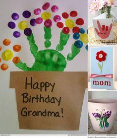 Leuk voor Moederdag of als verjaardagsknutsel voor oma, tante, juf, etc.