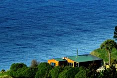Stunning coastal views in a movie like setting in Karitane, Dunedin Area Holiday Places, Holiday Accommodation, Coastal, Cabin, House Styles, Homes, Movie, Home Decor, Houses