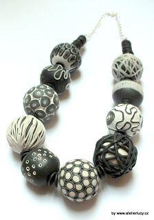 Black & White Beads Tutorial by LUCY Struncova