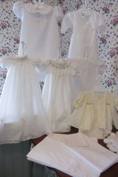 Smocked and embroidered for Charlotte Rose