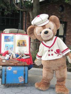 Duffy the Disney Bear Meet and Greet at Tokyo Disney Seas - Japan Disney Theme, Disney Love, Disney Magic, Disney Mickey, Disney Parks, Mickey Mouse, Tokyo Disney Sea, Tokyo Disney Resort, Tokyo Disneyland