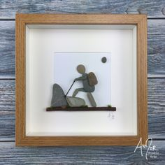 Stone Pictures Pebble Art, Stone Art, Sea Glass Crafts, Sea Glass Art, Christmas Pebble Art, Beach Rock Art, Pebble Art Family, Arts And Crafts For Teens, Lake Art