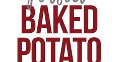 Perfect Baked Potato   Recipe   Perfect baked potato, The o'jays and Potato recipes