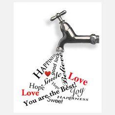 Inspirational Faucet Print.