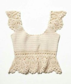 Fabulous Crochet a Little Black Crochet Dress Ideas. Georgeous Crochet a Little Black Crochet Dress Ideas. Débardeurs Au Crochet, Gilet Crochet, Crochet Bikini Top, Crochet Woman, Crochet Blouse, Cotton Crochet, Crochet Baby, Irish Crochet, Crochet Bodycon Dresses