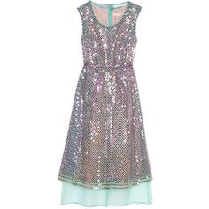 Marc Jacobs Sequin Broderie Anglaise Organza Scoop Neck Dress ($3,700) ❤ liked on Polyvore featuring dresses, marc jacobs, vestidos, mint, sleeveless dress, sequin cocktail dresses, sequin dress, sheer sequin dress and mint cocktail dress