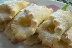 Творожное печенье «Платочки» с яблочной начинкой