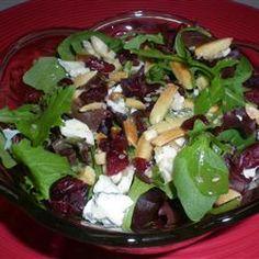 Jamie's Cranberry Spinach Salad Allrecipes.com