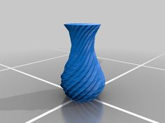 Spiral Vase by Tubby__ - Thingiverse