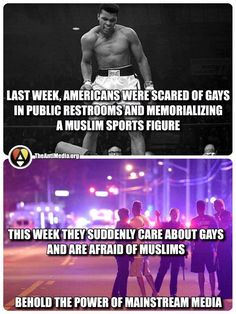 America, gays, muslims and the power of mainstream media Rebel Yell, Truth To Power, World Problems, Mainstream Media, Freedom Of Speech, Social Justice, Just In Case, Religion, Gay