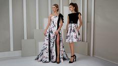 Formal dresses / Evening gowns Collection 'UNIQUE' – Volker Vornehm Photographer Evening Dresses, Formal Dresses, High Low, Unique, Collection, Fashion, Home, Evening Gowns Dresses, Dresses For Formal