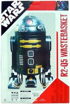 Heart x bLister Star Wars R2-Q5 Wastebasket Trash Can Collectible Exclusive