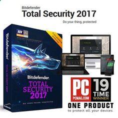 Bitdefender Total Security 2017 - Free Anti Malware Software - free keys - fullstuffs