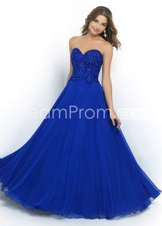 2015 A-Line Sweetheart Sleeveless Empire Zipper Prom Dresses