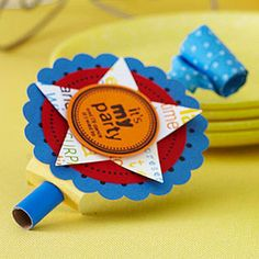 Personalize Store-Bought Party Favors