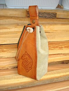"Belt Pouch ""Celtic Horse"""