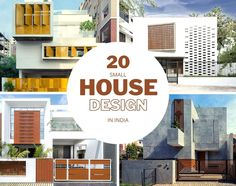 20 Small House Design In India Amalgamating Aesthetics With Functionality - The Architects Diary Small House Design, Modern House Design, Photographic Studio, Cozy Corner, Facade Architecture, Design Firms, Architects, Beautiful Homes, Living Spaces