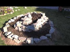 Building an Herbal Spiral - A Permaculture Basic w/ Earthway Experience - YouTube