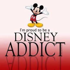 ❤️🖤 Disney is my happy place 🖤❤️ the castle is my home 💖🏰 li. by Of All Things Disney Walt Disney, Disney Nerd, Disney Love, Disney Magic, Disney Mickey, Disney Stuff, Disney Humor, Punk Disney, Princess Disney