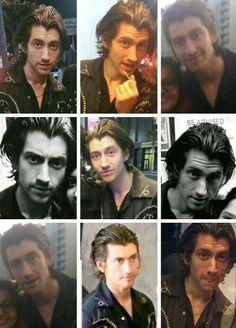 Alex and his hiatus hair.