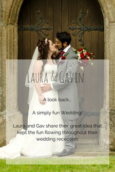 A look back at Laura and Gavin's fun filled wedding day in Cornwall.
