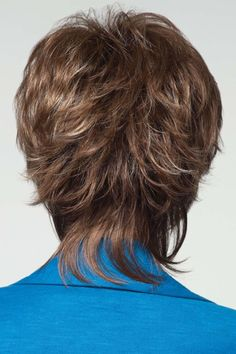Millie is a unique trendy style with a flirty edge from Noriko wigs.Tousled style with gorgeous layers and a long wispy nape. Shag Hairstyles, Trending Hairstyles, Hairstyles Pictures, Hairstyles Videos, Hairstyles 2016, Hairdos, Braids For Short Hair, Short Hair Cuts, Haircut For Older Women
