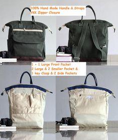 Tasche/Rucksack und Innenleben