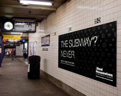 #Advertising & #Design: 'Real Housewives of New York City' Ads by Miami Ad School Students #nyc