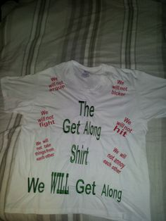 The Get Along Shirt by EmbroideryDownloads on Etsy, $14.99