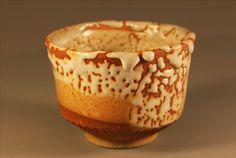 Shino glazed stoneware yunomi.  www.nitaclaise.com  Pottery by Nita Claise
